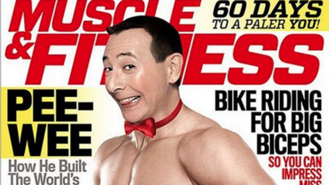 Pee-wee herman on the m&f cover. - scoopnest.com
