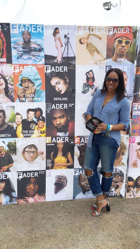 See you at the #FaderFort. @iam_Davido about to set it off!