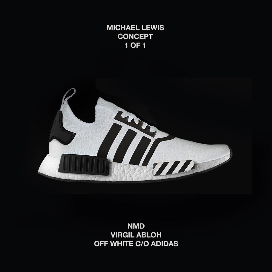 7636a0300a360 comGiNC4UoaIi These Off-White x adidas Originals NMD CS1 Customs Are Pure  Fire Dapper Distress on Twitter ...
