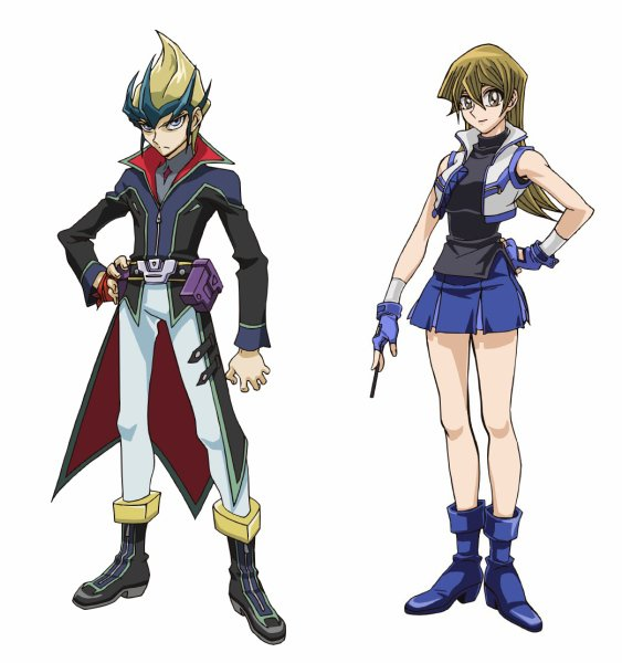 Yugioh Character Design : Yu gi oh arc v character designs for asuka tenjouin and