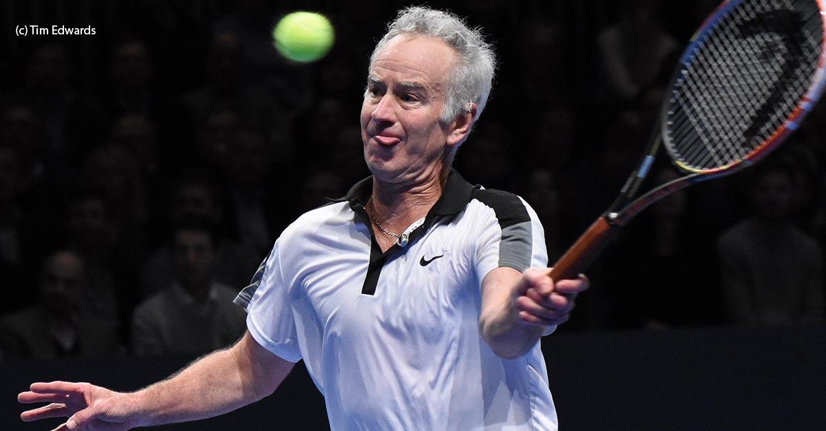 McEnroe with Head | Talk Tennis