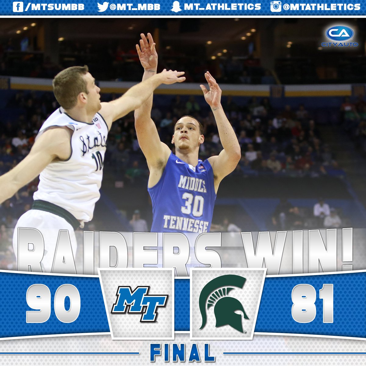 The #BlueRaiders are on to the next round! #TrueFamily #DancingRaiders https://t.co/JDVCzVBJf1