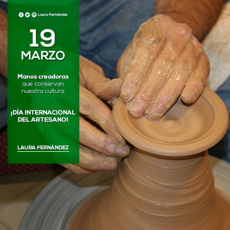 #DíaDelArtesano! Por esas manos que se dedican a conservar nuestra cultura. https://t.co/OUoUcqnkI1