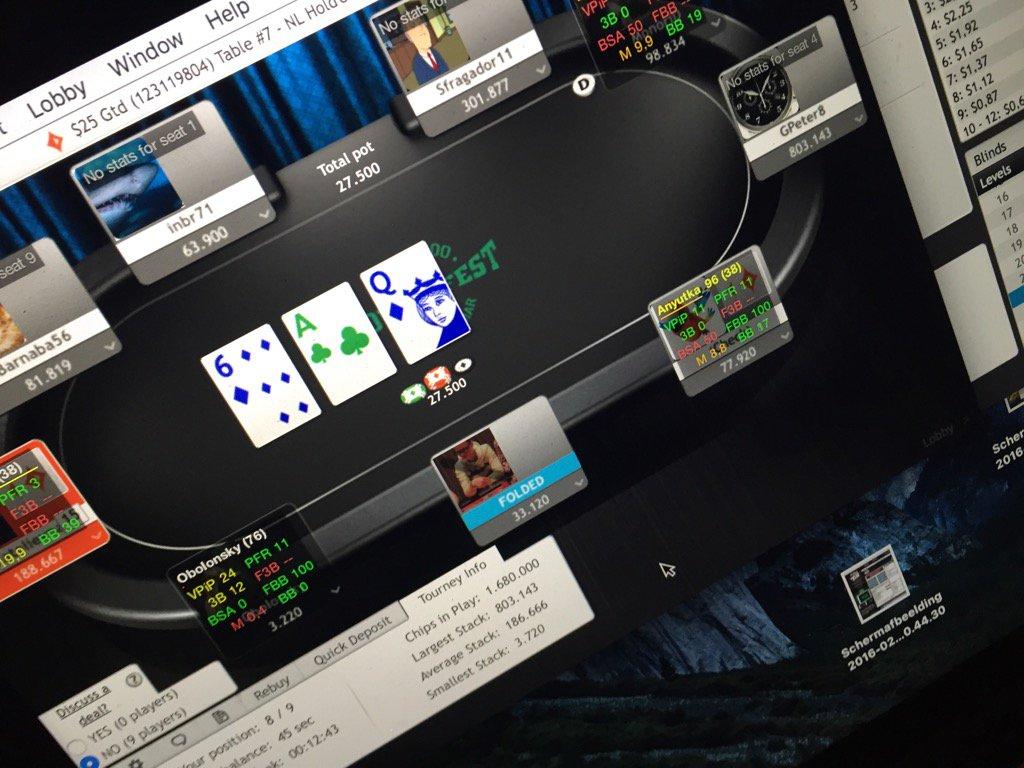 Gripsed poker twitter pmu poker sur mobile