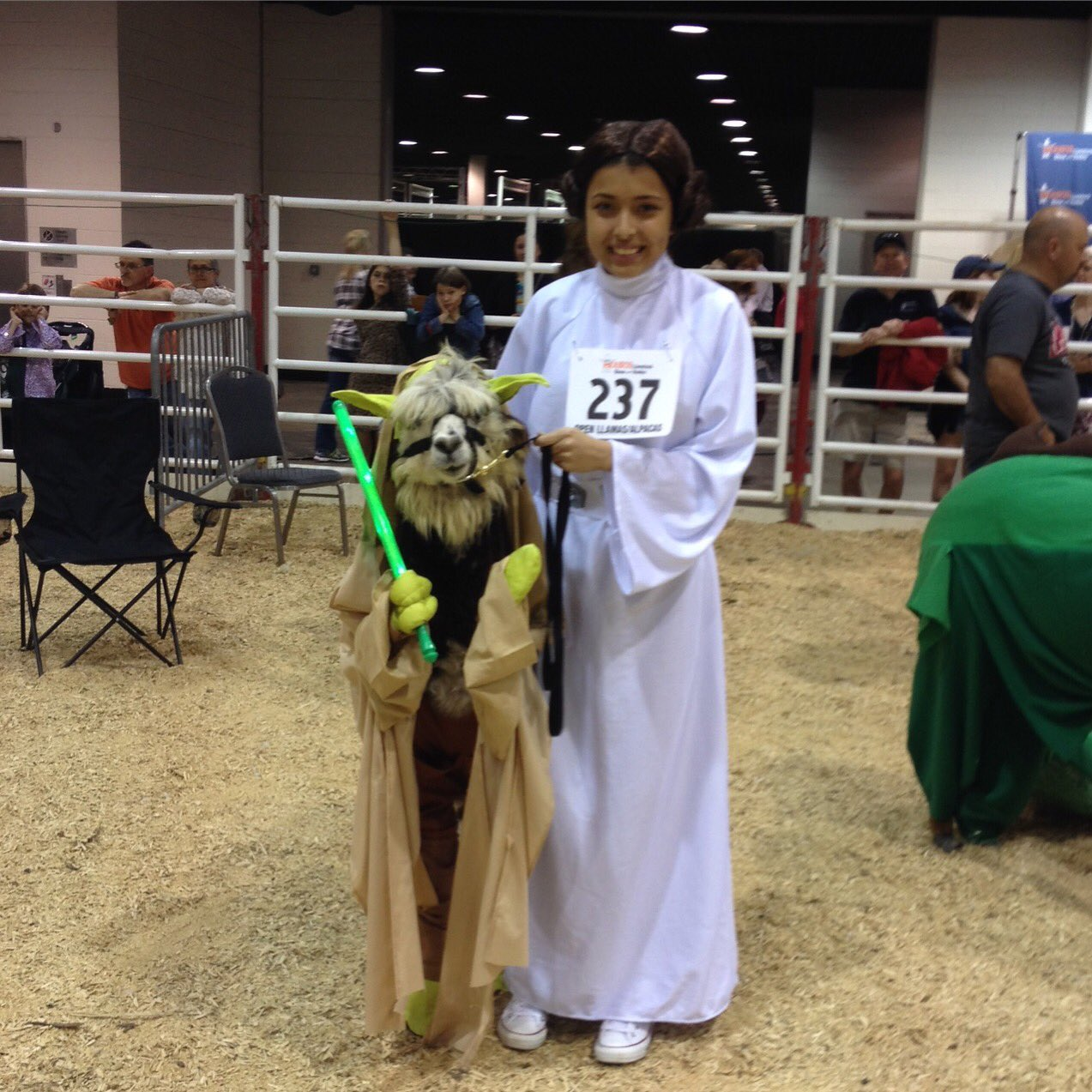dekaney ffa on twitter way to go princess leia and yoda. Black Bedroom Furniture Sets. Home Design Ideas