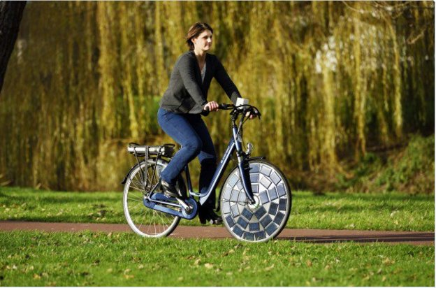 WOW! Ultimate #Green Transport #Solar Bikes on Solar Roads euronews.com/2016/03/09/dut… #Climate #Energy #FutureIsClean