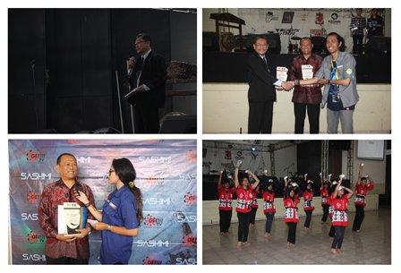 Kesuksesan Japan Community Widyatama dalam menggelar acara SASIMI http://bit.ly/1Mgj88d #WartaUTama