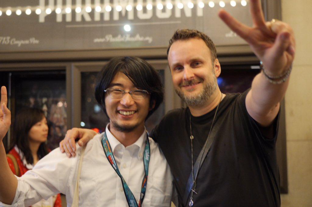 X JAPANのドキュメンタリー映画「We are X」の上映がSXSW2016で終わりました!実は僕とリッキーで日本パートの制作進行を担当しました。監督のStephenとオースティンで再開。 #SXSW2016 https://t.co/NaPGVGZN1x