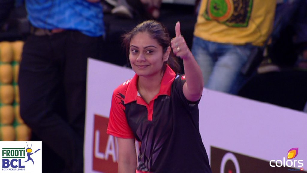 Toral Rasputra in BCL Team Ahemdabad Express image-photo