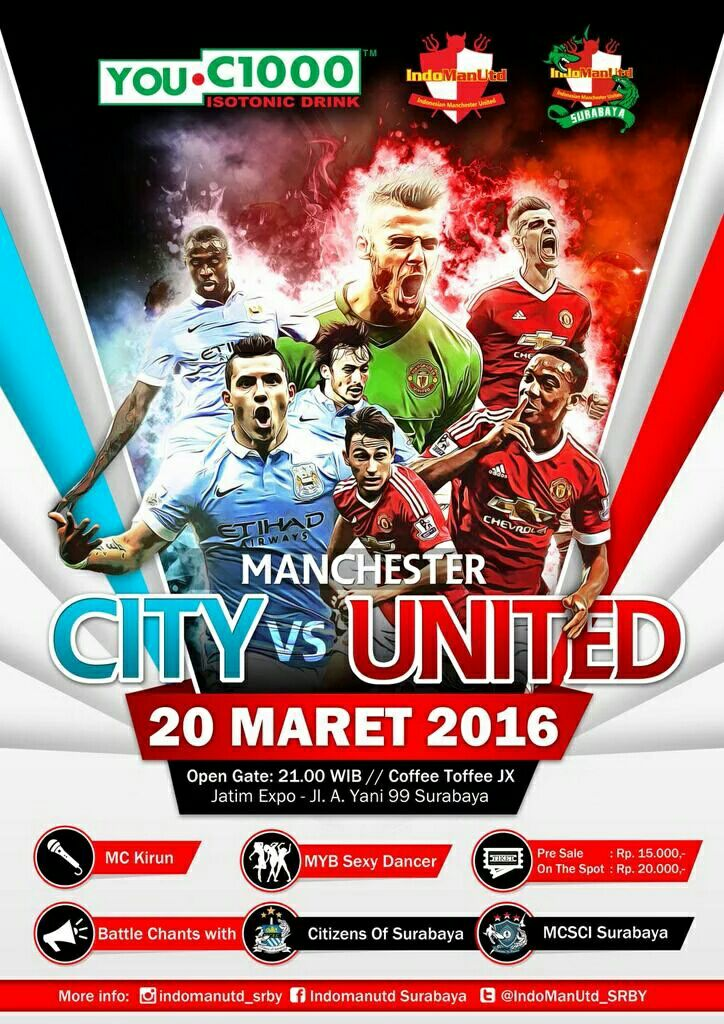 """@indomanutd  proudly present Nonbar """"Derby of Manchester"""" #WEAREUNITEDID #YOUC1000ISOTONIC #INDOMANUTD https://t.co/QxNq7QKPgO"""