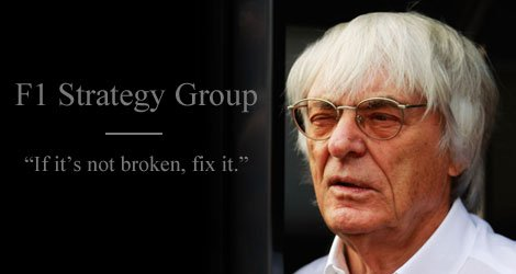 Another triumph for Ecclestone and his Strategy Group cohorts. #F1 #AusGP https://t.co/ggaKlyb8kC