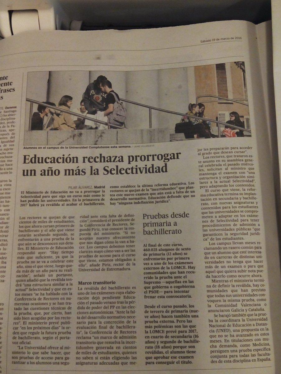 A @educaciongob  no le corre prisa la incertidumbre del alumnado, familias y profesores ... #educación #orientachat https://t.co/JAfipt6OmR