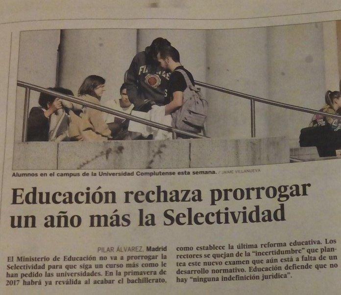 A @educaciongob no le corre prisa futuro de nuestros alumnos y alumnas. A ellos, sí. Tuitea con hashtag #desorienta2 https://t.co/pSueeBqo44
