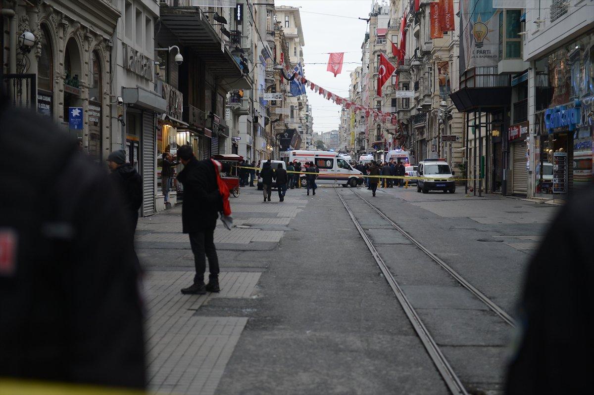 İstiklal Caddesi'nde patlama: 4 ölü 20 yaralı