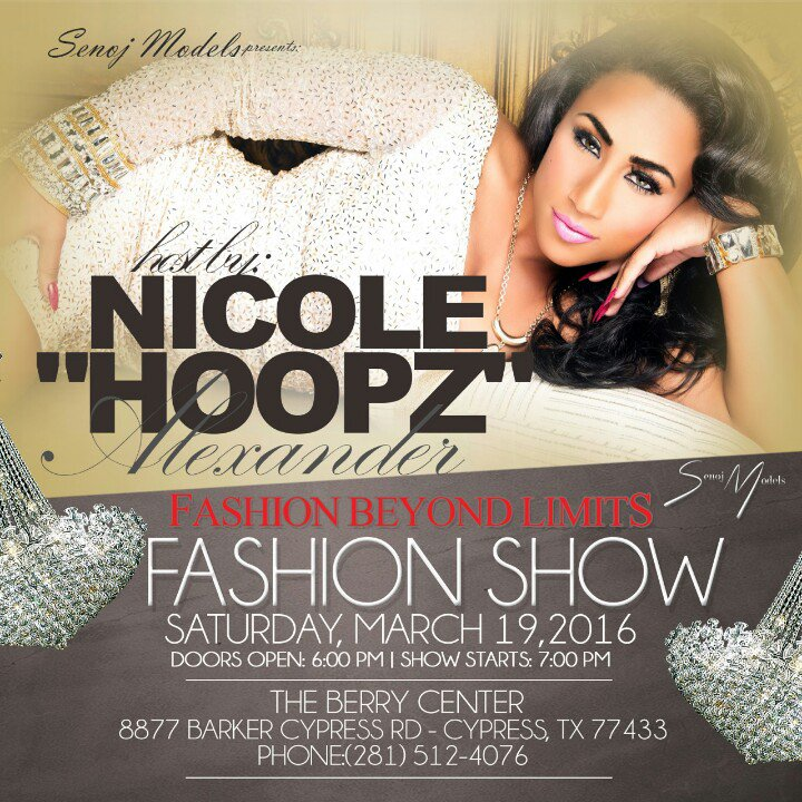 Nicole Alexander  - In route to twitter @TheRealHoopz houston,tx,fashionbeyondlimits,htown