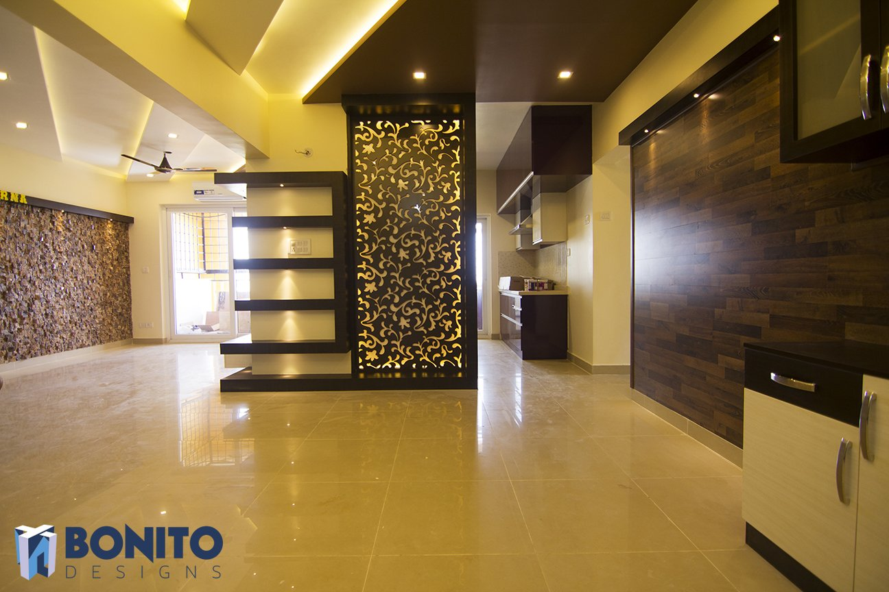 Bonito designs on twitter cnc partition and the stone for Foyer ideas for indian apartments