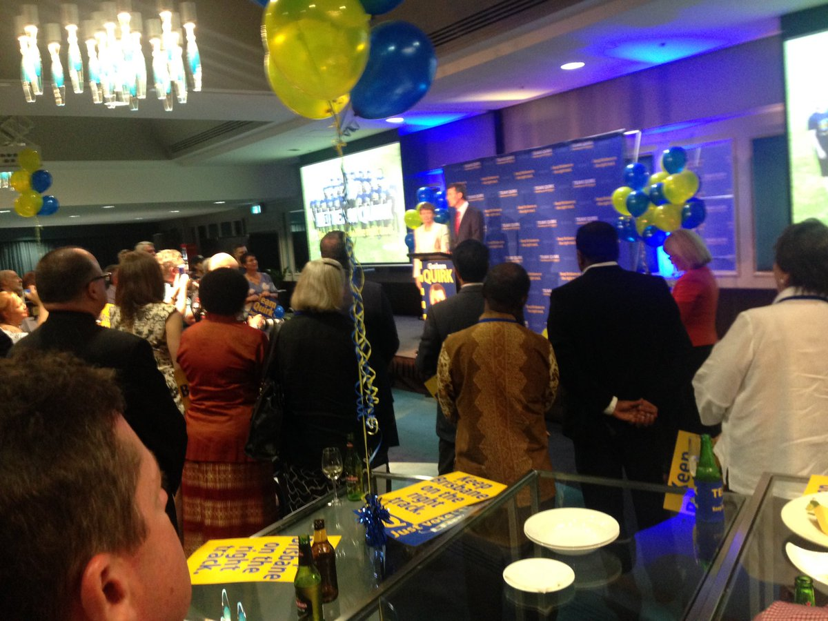 """""""The campaign has been about 3 words: holding the nerve."""" @Team_Quirk @7NewsQueensland #bnevotes https://t.co/omTqlWVale"""