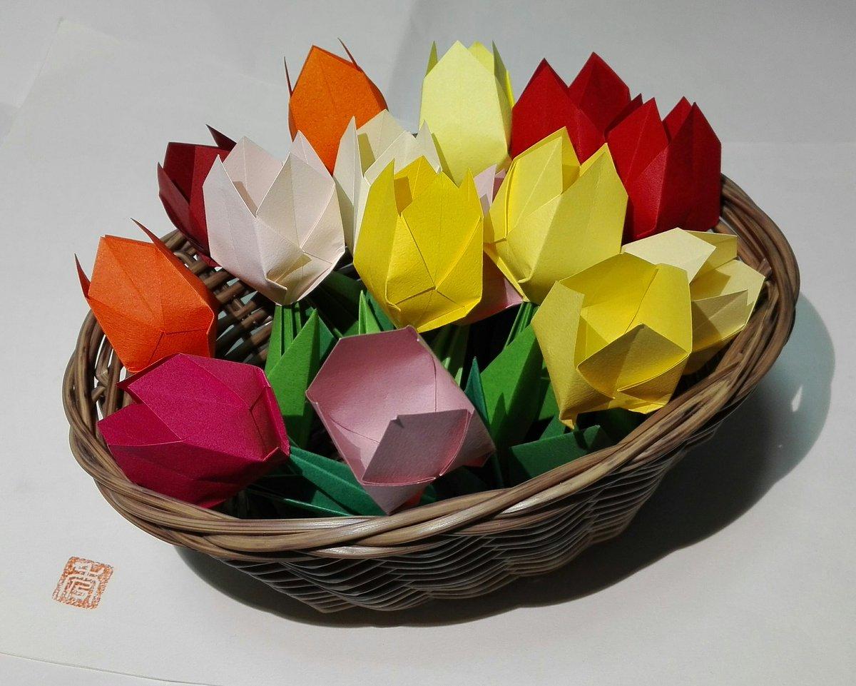 花 折り紙 可愛い