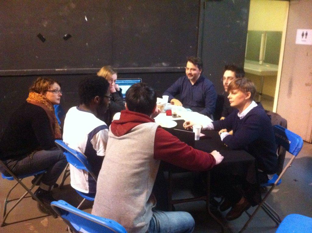 Dernière ronde de mentor pour #Checkmyhome avec @NicolasLoubet @orianeledroit #SuperDemain https://t.co/Vg8EDpwPhP