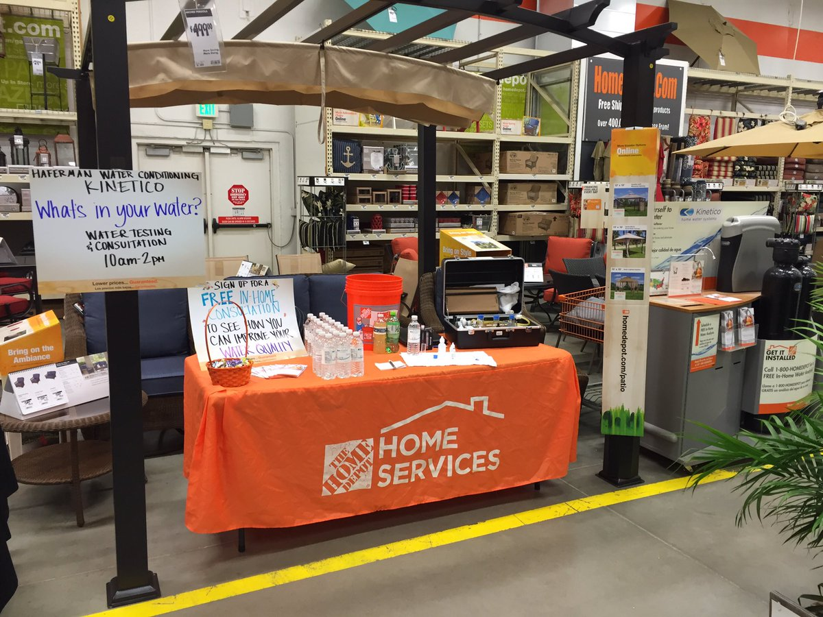 Karl Pold On Twitter Free Water Testing At The Shakopee Home Depot