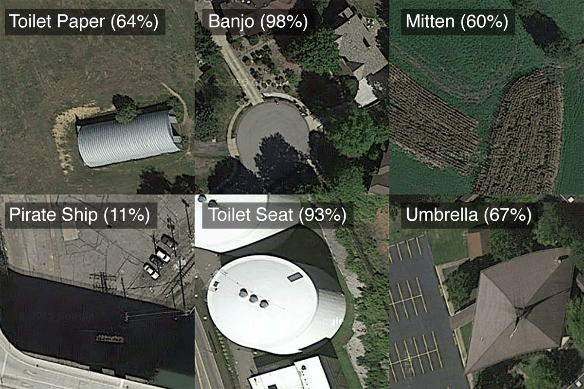 this is what a neural net sees when it looks at satellite images. wip with @golan @workergnome https://t.co/IdrCly9KVQ