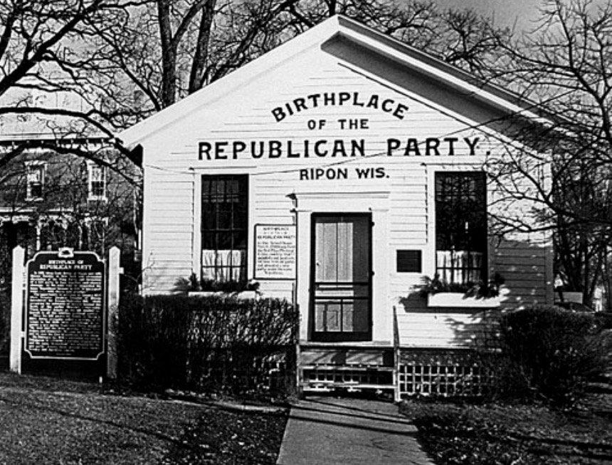 the founding and history of the republican party History of the american independent party democratic and republican, have deserted the principles and traditions of our nation's founding fathers both of the.