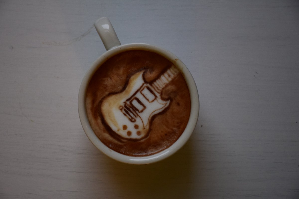 Barista artist draws 'Friends' in latte foam to perk you up