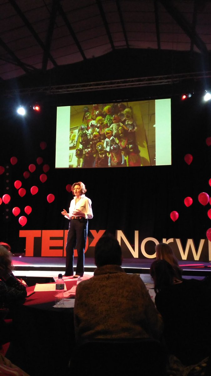 #TEDxNorwichED wonderful inspiring talk from @MaryMyatt could have listened to you for so much longer. Thank you. https://t.co/HZP2n5ETUr