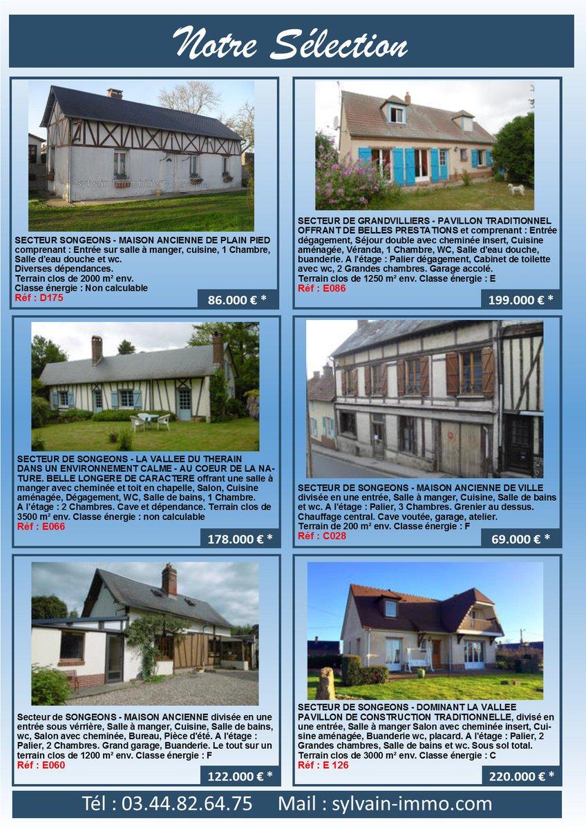 Lu0027Agence Sylvain Immobilier SONGEONS Crée Sa Brochure Qui Sera à Votre  Libre Disposition.pic.twitter.com/roYGqPWyYq