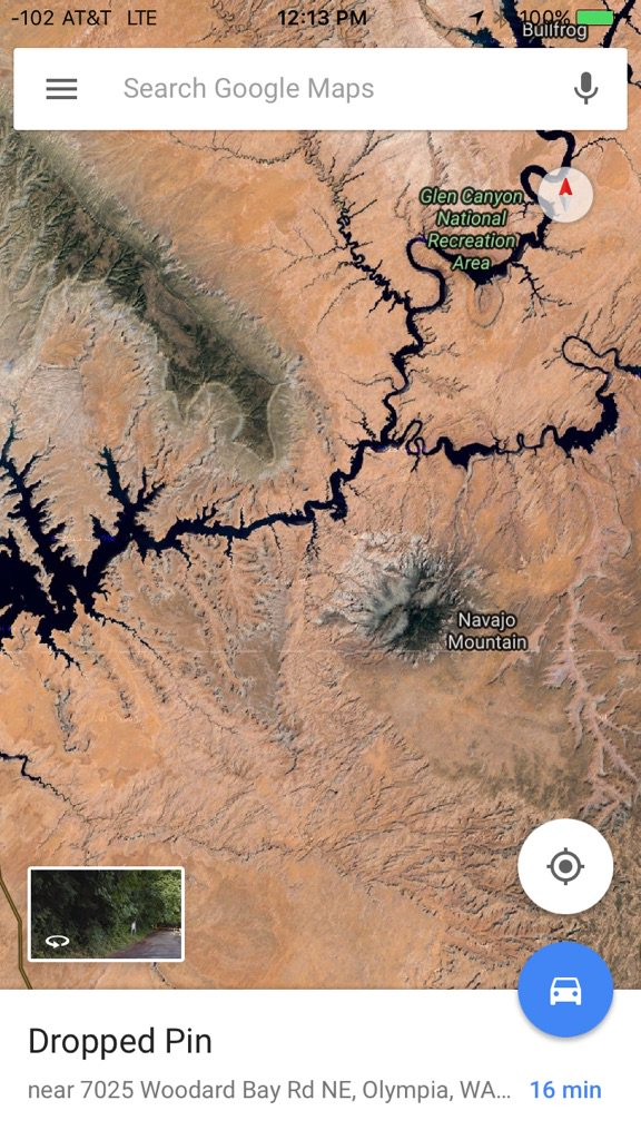 .@astro_timpeake Navajo Mountain on the Utah/Arizona border. https://t.co/16hPFpH2EV