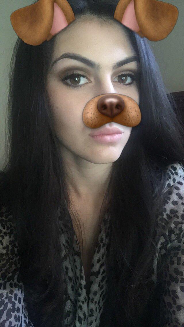 image Doggy filter blowjob selfie