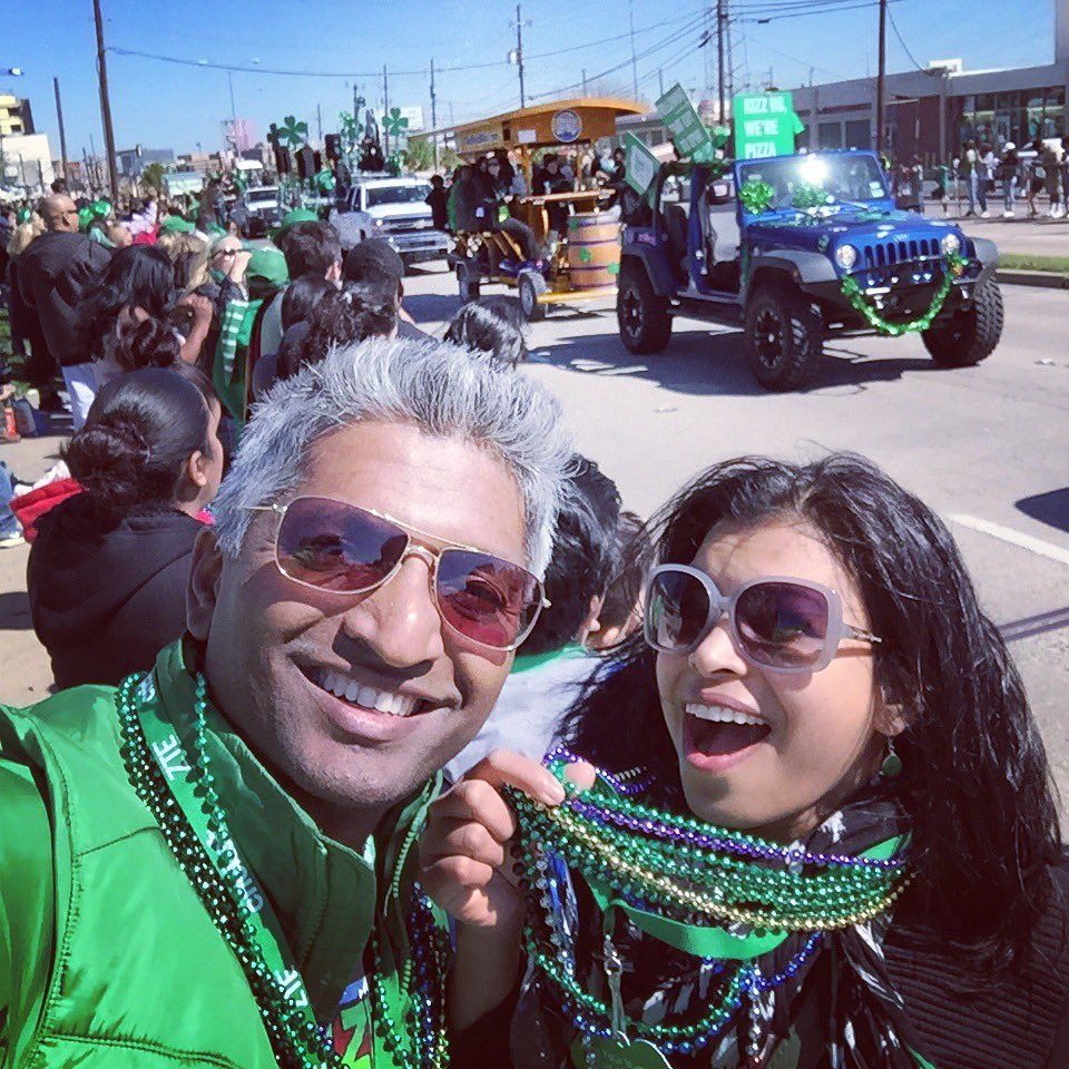 Parades are always fun, more so when Irish🍀 #dallasparade #StPatricksDayParade #IrishforaDay