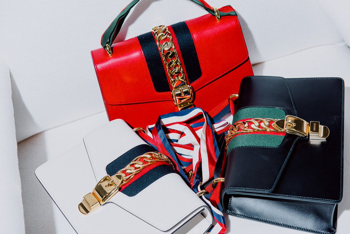 a355523eb7e9 gucci s new sylvie bag is just the bag you ve been looking for .
