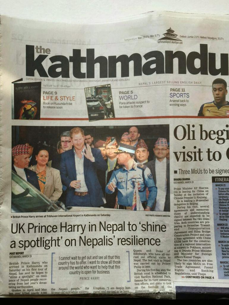 Thumbnail for Prince Harry in Nepal - Day 2