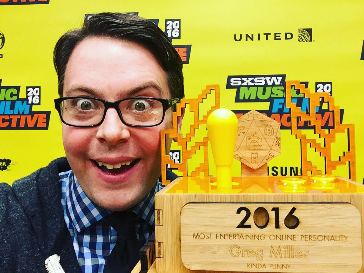 Y'all won me another one. Thank you for being best friends.  #sxswgamingawards <br>http://pic.twitter.com/kORB9wu2h7