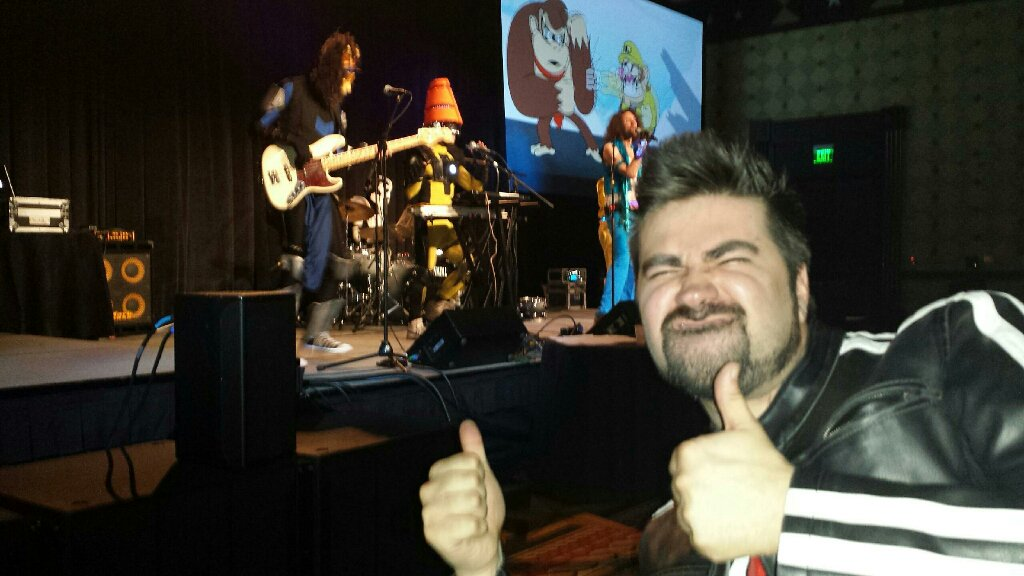 Awesome Show from NinjaSexParty!/ @GameGrumps tonight! #SXSWgamingawards <br>http://pic.twitter.com/nSvuForW6h