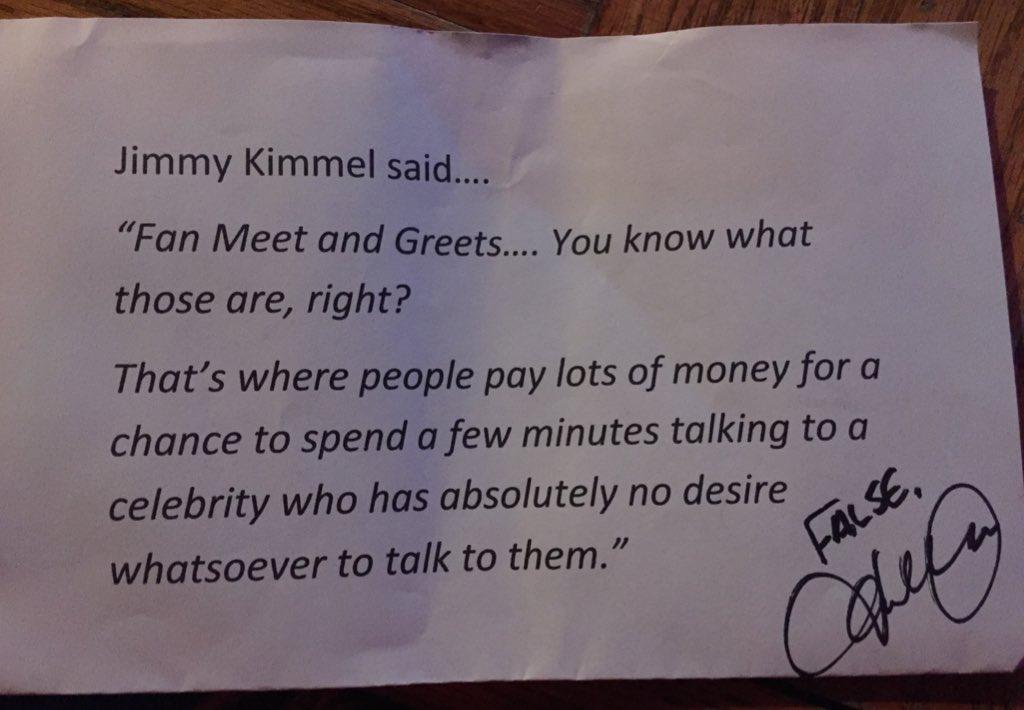 I met David Cook! He signed my paper....sweet guy! https://t.co/GXTzXQhfyE