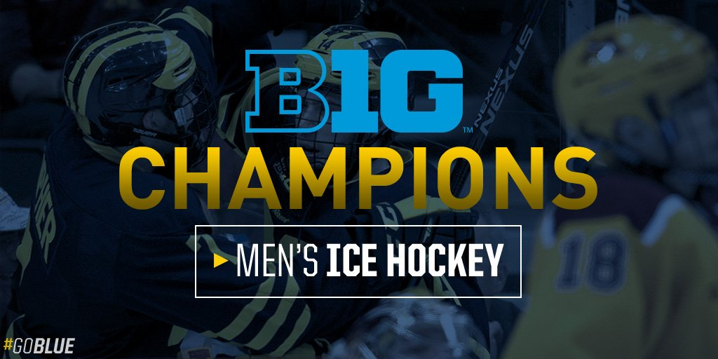 Michigan wins it 5-3. #GoBlue https://t.co/qAU4YtSFit