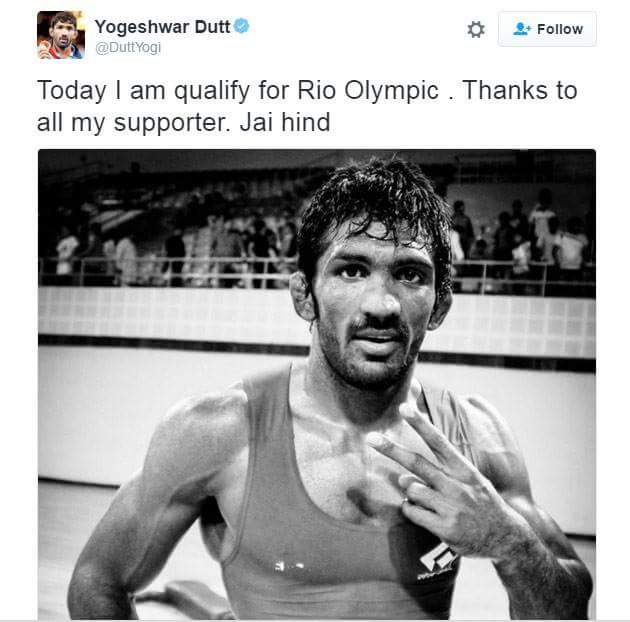 While everyone's talking about #IndVsPak, let's spare a moment to celebrate this victory as well! Kudos to @DuttYogi https://t.co/ekFhu8CVtm