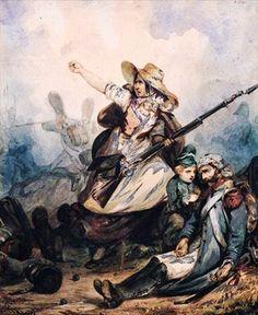 3)En 1830, les voici sur les barricades de Juillet. Mais la division genrée des taches domine. Peu combattent https://t.co/EF6a1Axhlt