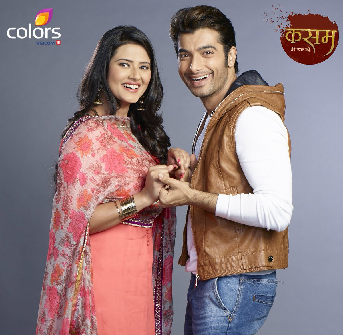 Images of Rishi and Tanu in Kasam on Colors , Kratika Sengar and Ssharad Malhotra in Kasam HD Image