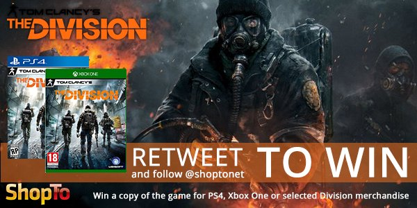 When the lights go out, your mission begins #WIN The Division https://t.co/FTmchtOUWH #Giveaway ends Thursday https://t.co/Wc6pLtzVEy