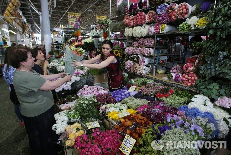 Оптовый рынок цветов в москве строгино