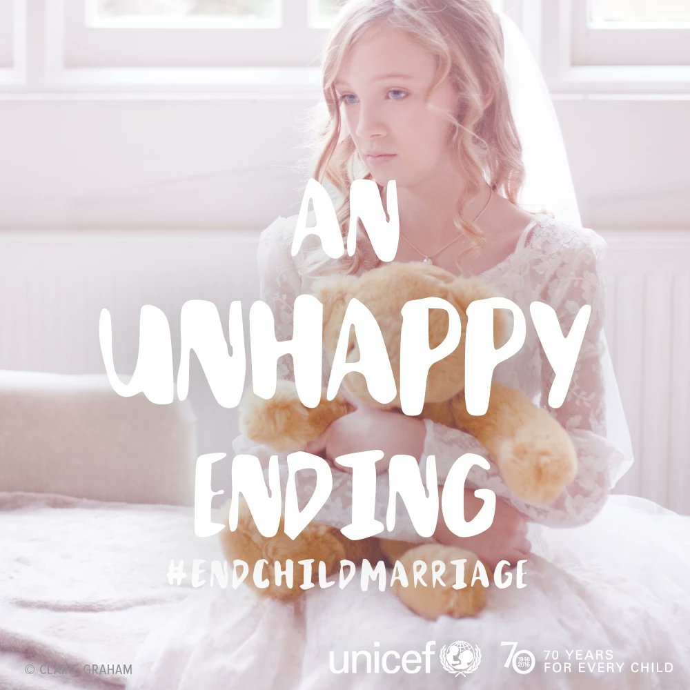 Not every bride gets her happily ever after... #endchildmarriage #InternationalWomensDay https://t.co/qPmsY5YxEI