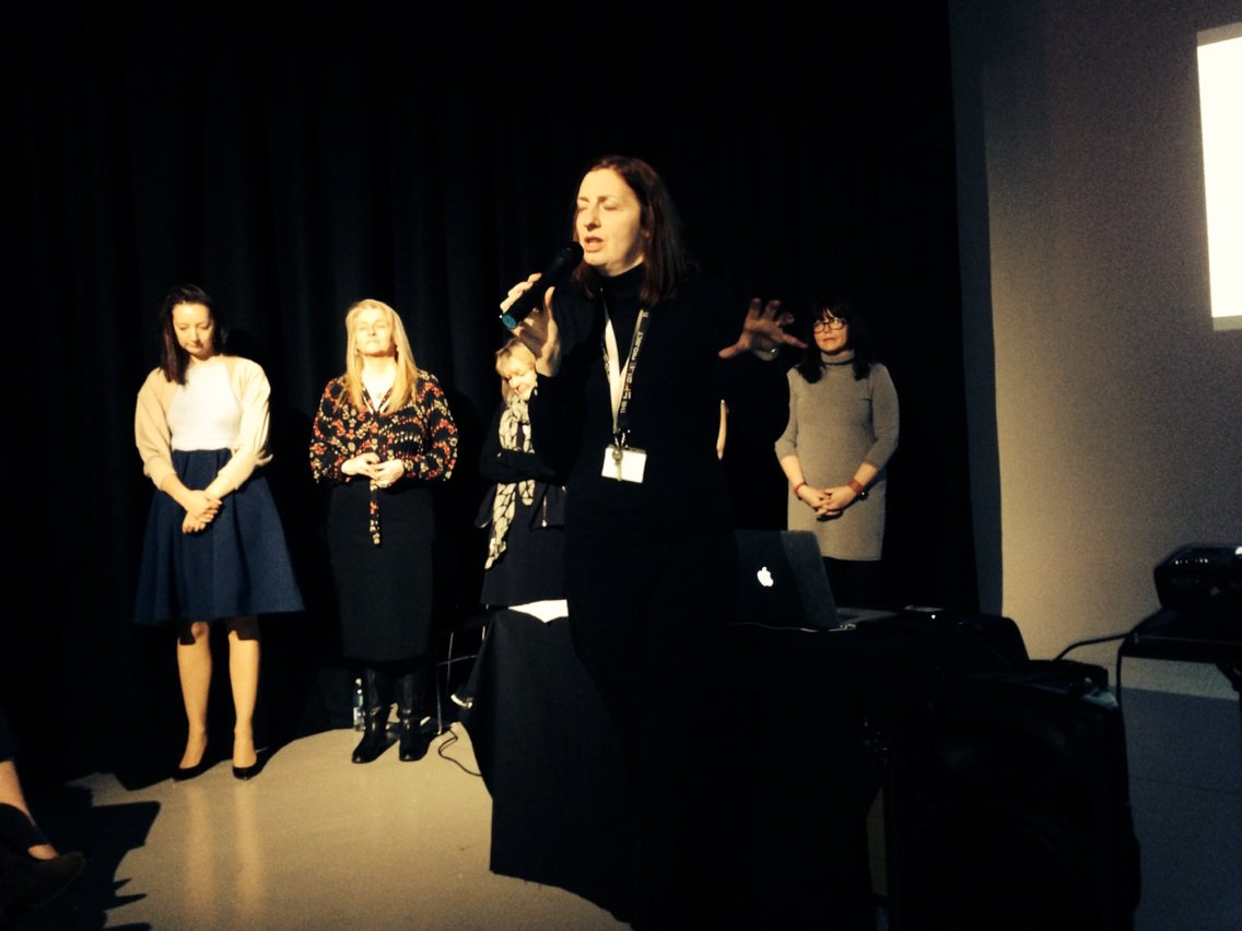 Our very own inspirational woman- Mrs Haves #WomenChangeMCR https://t.co/TQxGrO64Oo