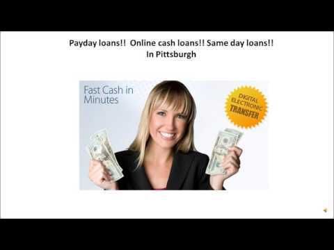 payday loans in pittsburgh