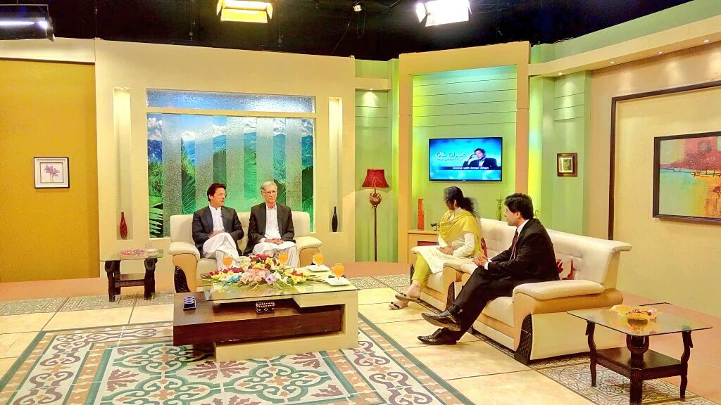 Snaps from #ImranKhanOnline with Khyber News https://t.co/Pio29PYRCp