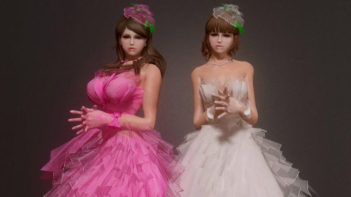 Skyrim Wedding Dress.Mita On Twitter Blog Update Ling Wedding Dress Https T Co