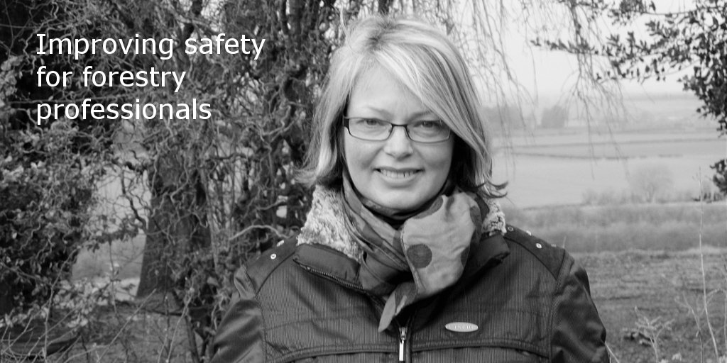 Gillian Clark, Chief Executive for Forest Industry Safety Accord (FISA) #IWD2016 https://t.co/bZ9ZblHG8p