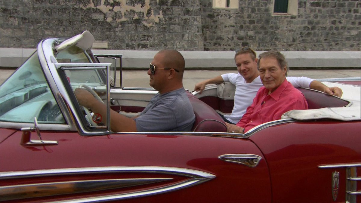 The best way to see Havana. My interview with @diplo is coming up on @CBSThisMorning. https://t.co/zQ10ZfeGRr
